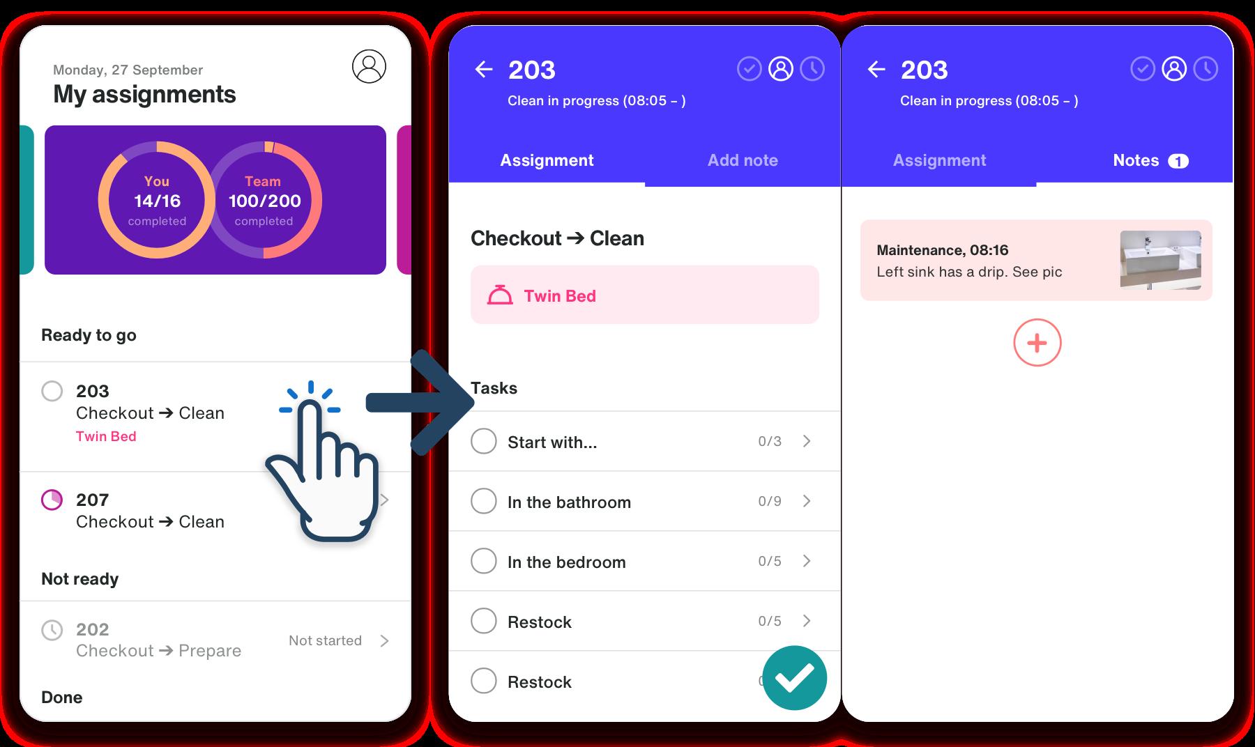 Lua Mobile screens