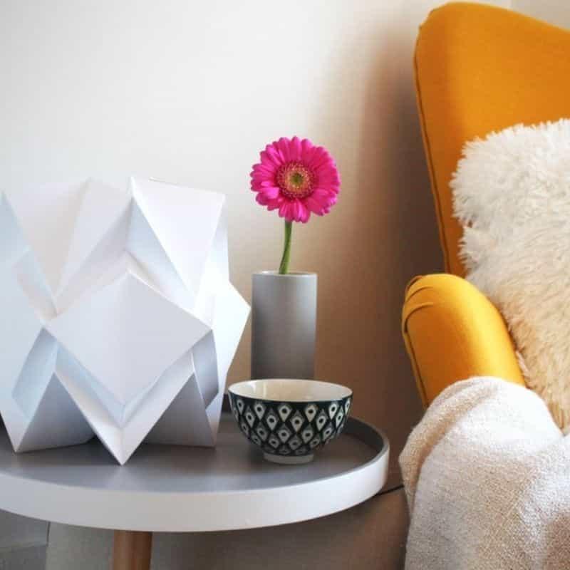 Lampe de Table Origami