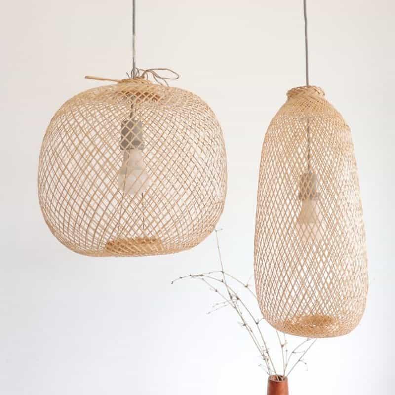 Lampes en Bambou