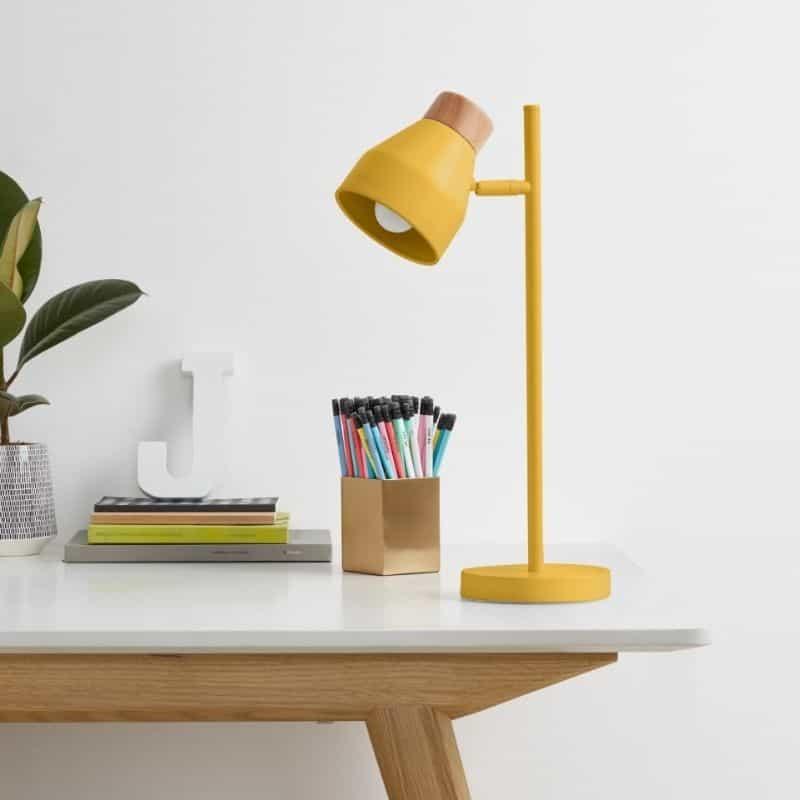 Lampe de Bureau jaune