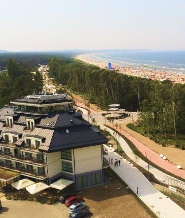 Obraz - widok panoramiczny hotelu