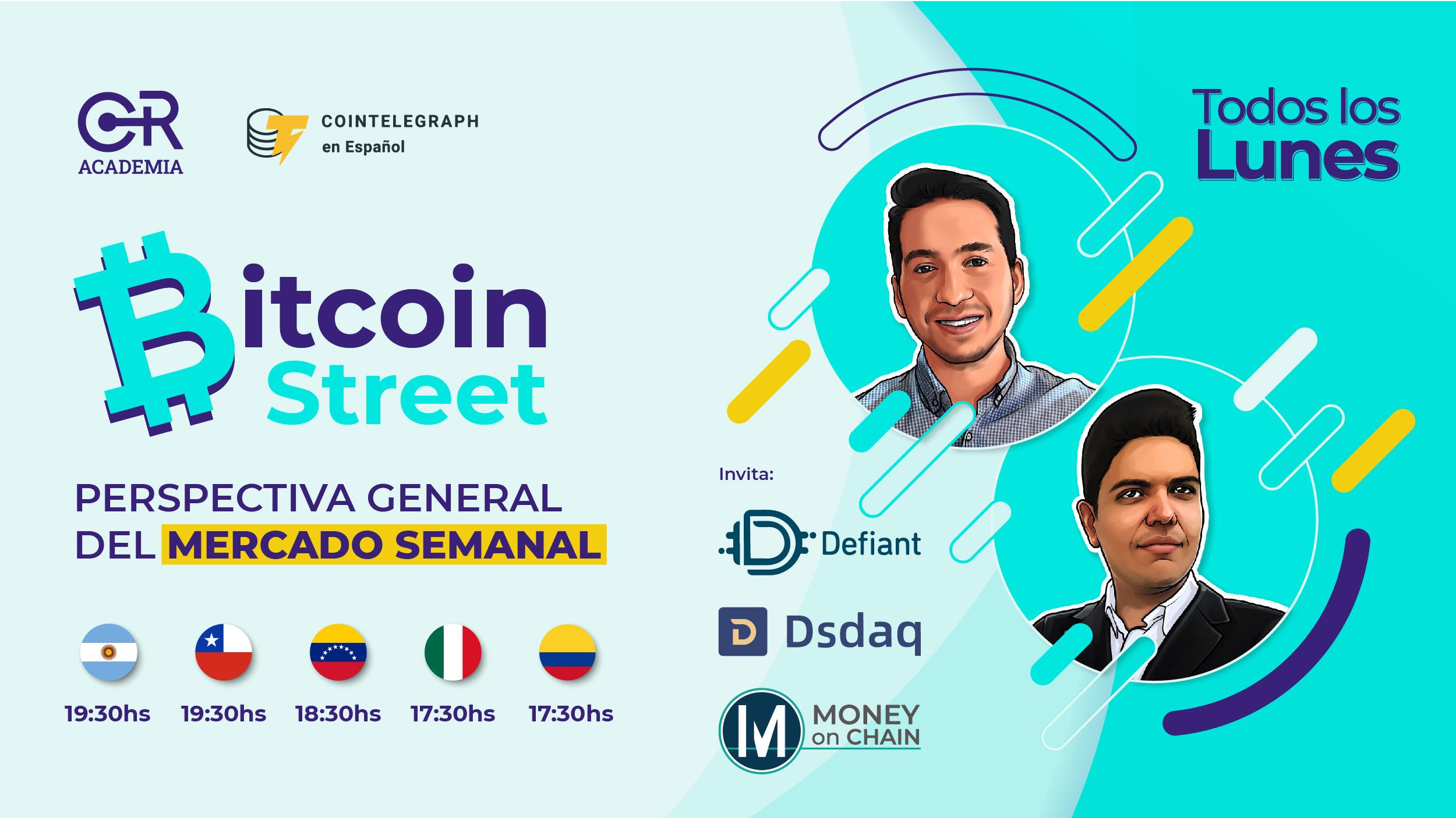 Bitcoin Street Semana 08/02/2021 - 14/02/2021