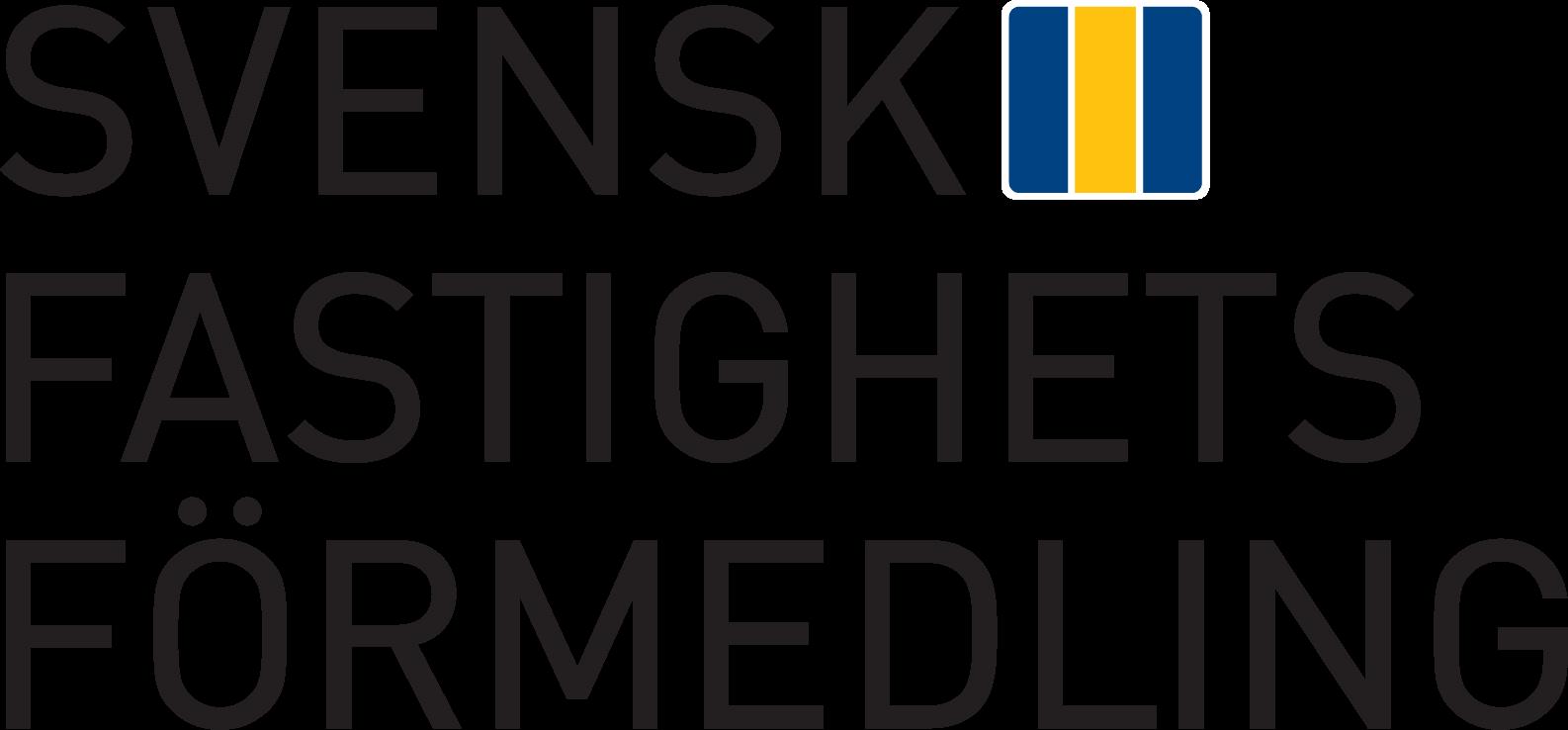 Svensk fastighets förmedling logo