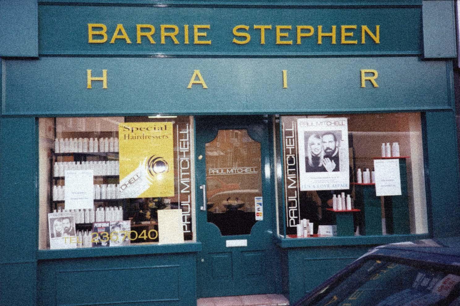 Barrie Stephen first Salon