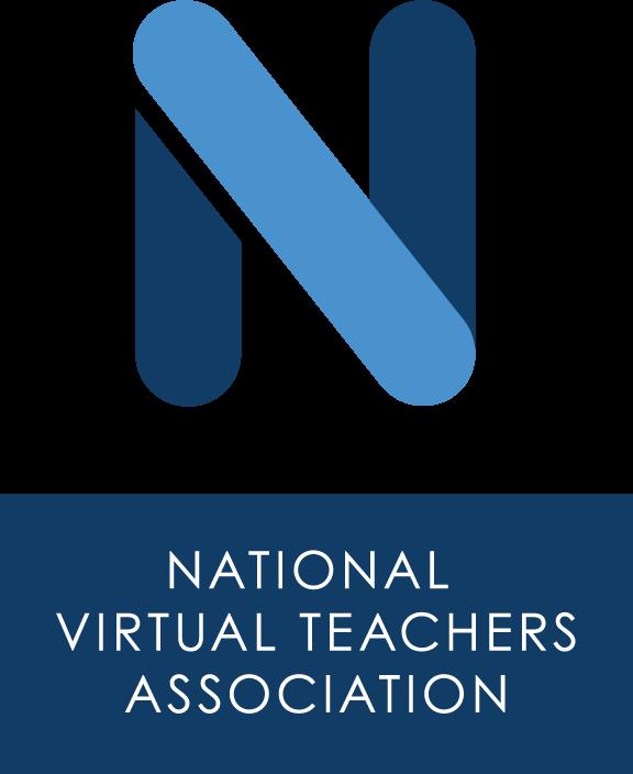 Blue N National Virtual Teachers Association logo.