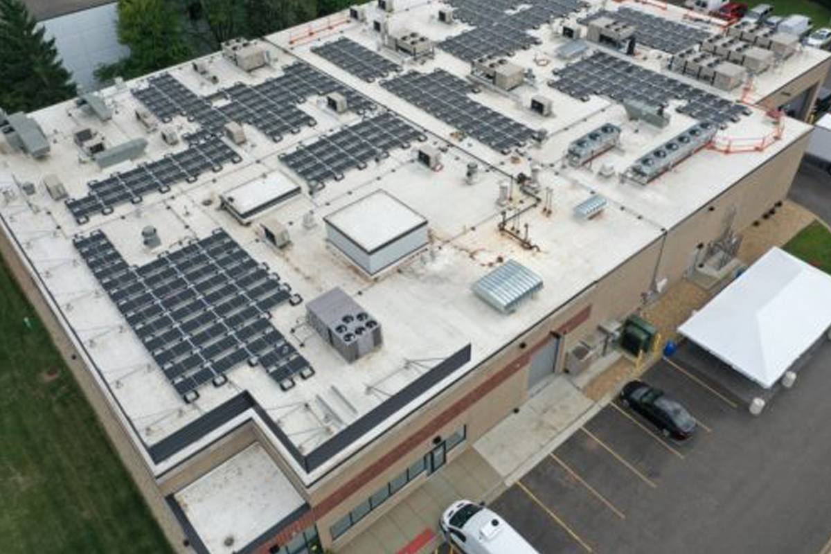 Headline Solar is installing its largest commercial solar project to-date