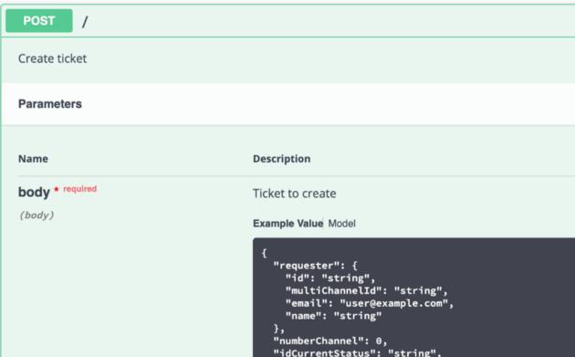 Documentação de propriedades em APIs RESTful - Não recomendado