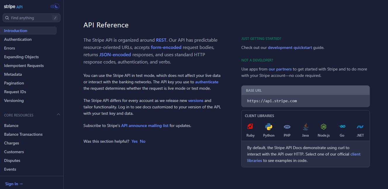 Experiência de consumo de APIs - Documentação clara