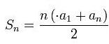 Complexidade de um algoritmo - progressão aritmiética