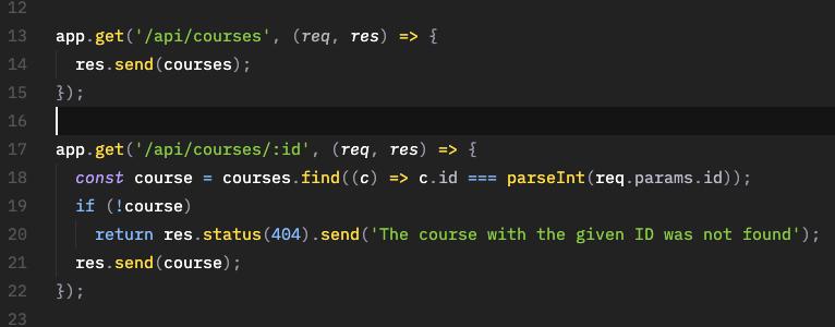 API REST com Node - Método GET
