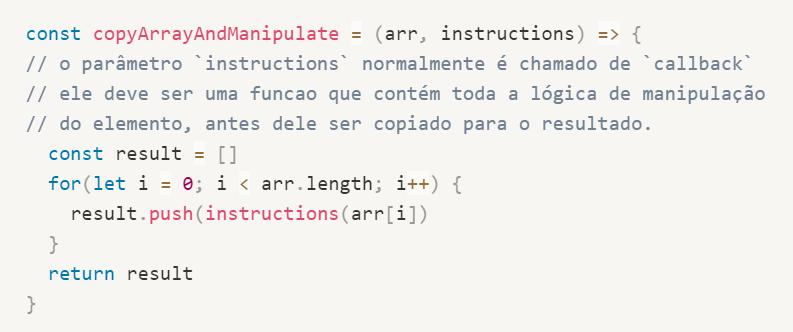 Como usar funções de ordem superior em Javascript 1