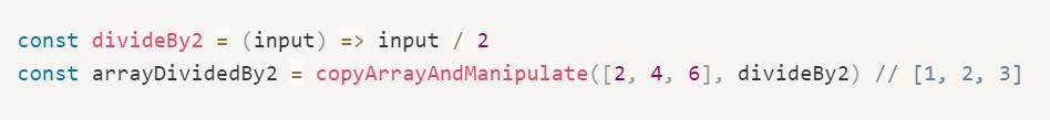 Como usar funções de ordem superior em Javascript 2