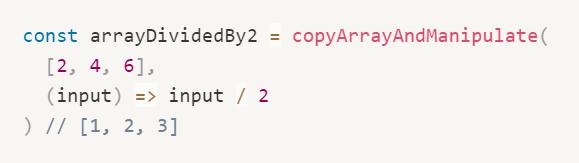 Como usar funções de ordem superior em Javascript 3