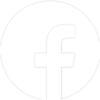 Facebook icon in white