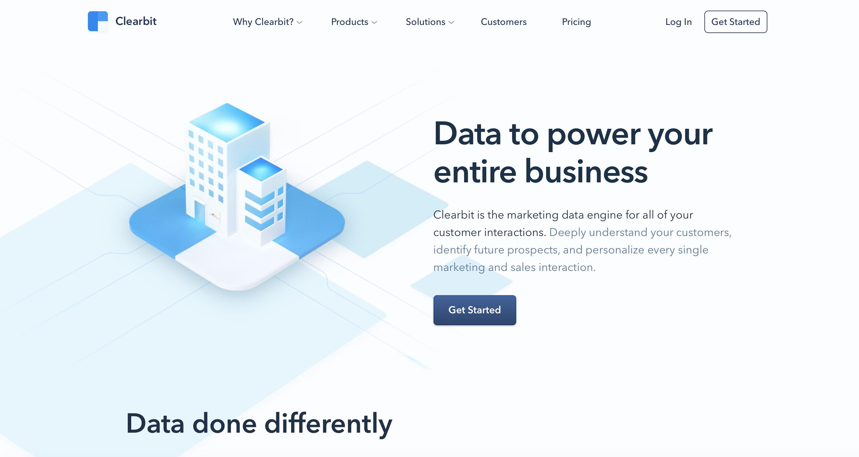Data provider list building