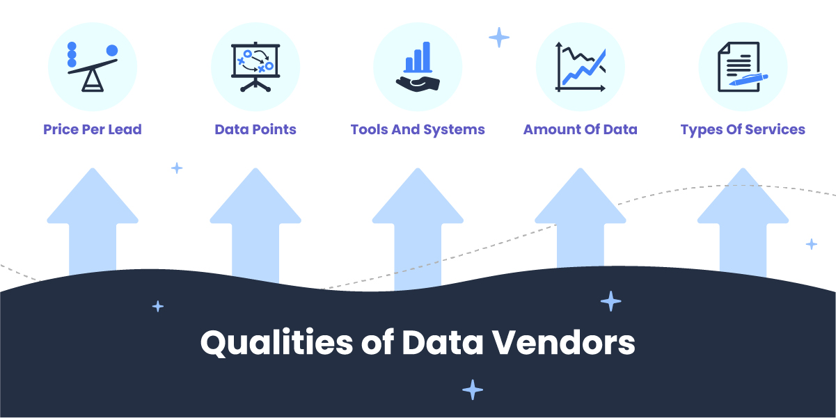 qualities of data vendors for leads