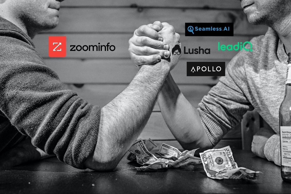 Zoominfo vs. Seamless.ai and competitors