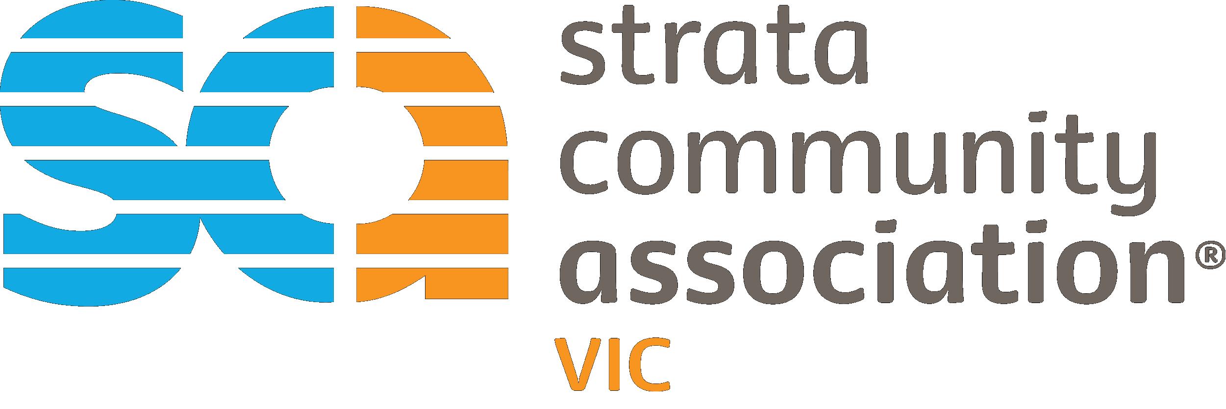 Strata Community Association Victoria logo.