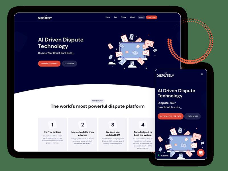 Disputely Website