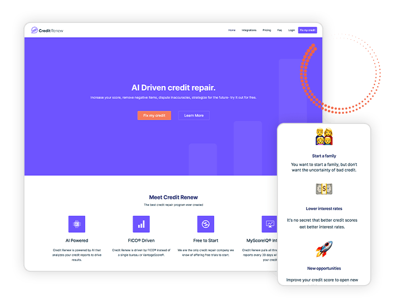 webrenew project credit renew