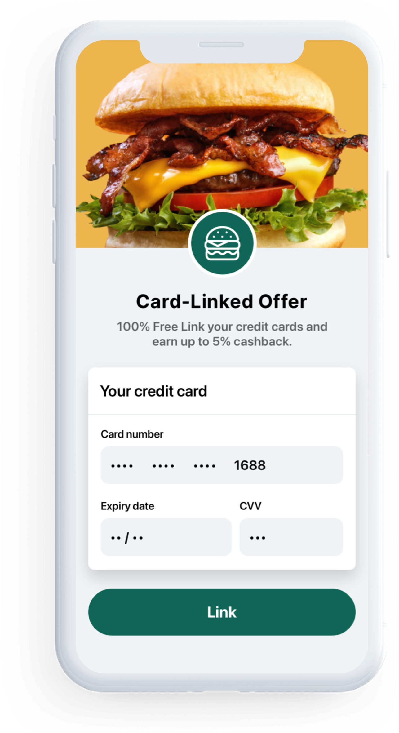 Seamless Offer Redemption Simplify the way customers engage with your offers. Let customers get cashback and rewards credited directly to their bank card, streamlining the offer redemption process.