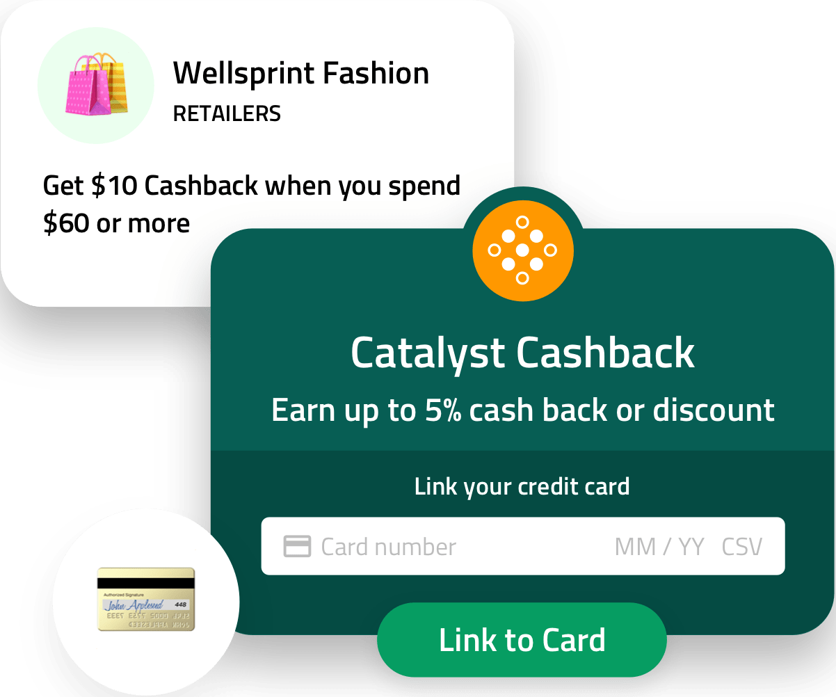 Enroll Customers Enroll credit and debit cardholders into targeted portfolios on the Catalyst Marketplace.