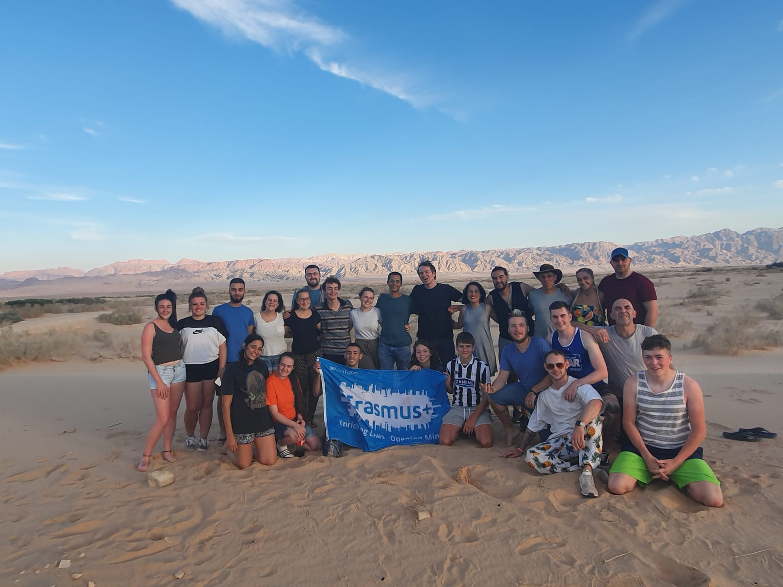 """""""The things that I like the most about this project would be the friendships beeing built, to learn about different cultures, different ways of life and my highlight of the project was sleeping in the desert under the stars."""""""