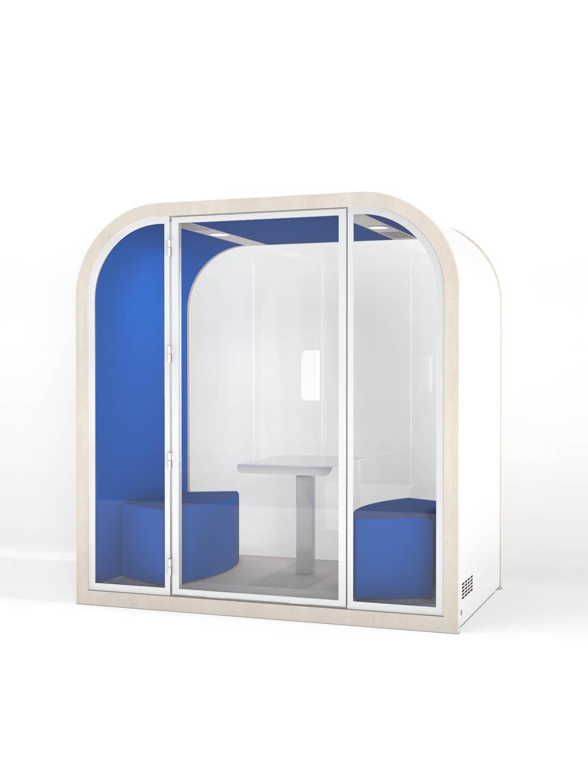 Salles de réunion acoustique - Bleu électrique