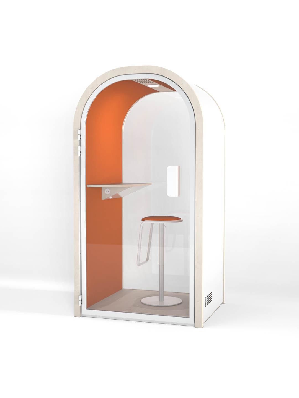 Cabine acoustique - Orange