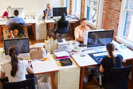 Office und Büro von Webdesign Agentur