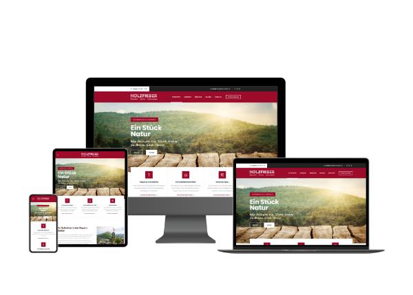 Webseite Schreiner