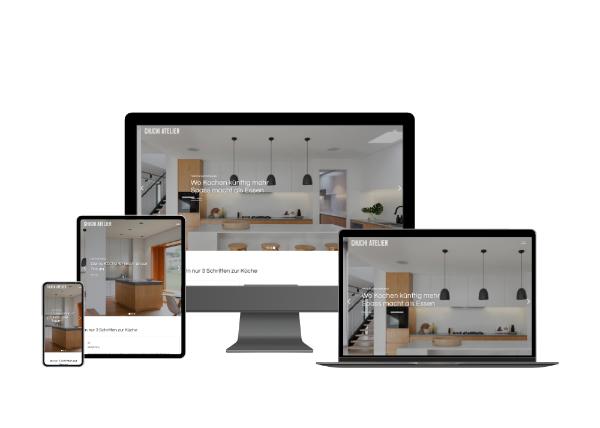Webseite Küchenbauer