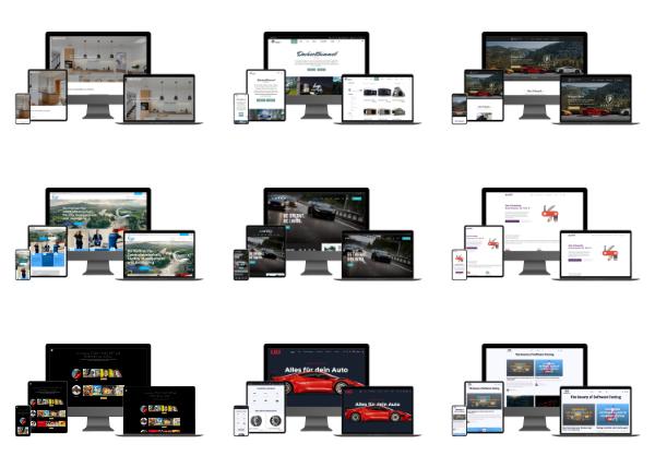 Modernes Webdesign Aargau