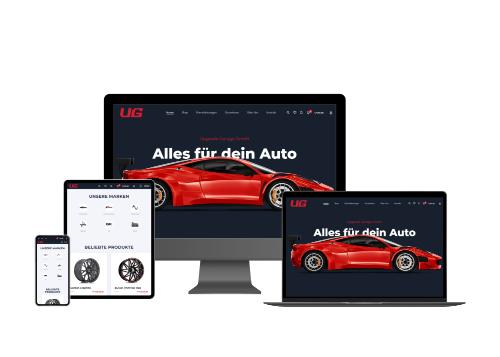 Online-Shop Automobilbranche