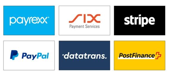 Die beliebtesten Zahlungsdienstleister der Schweiz