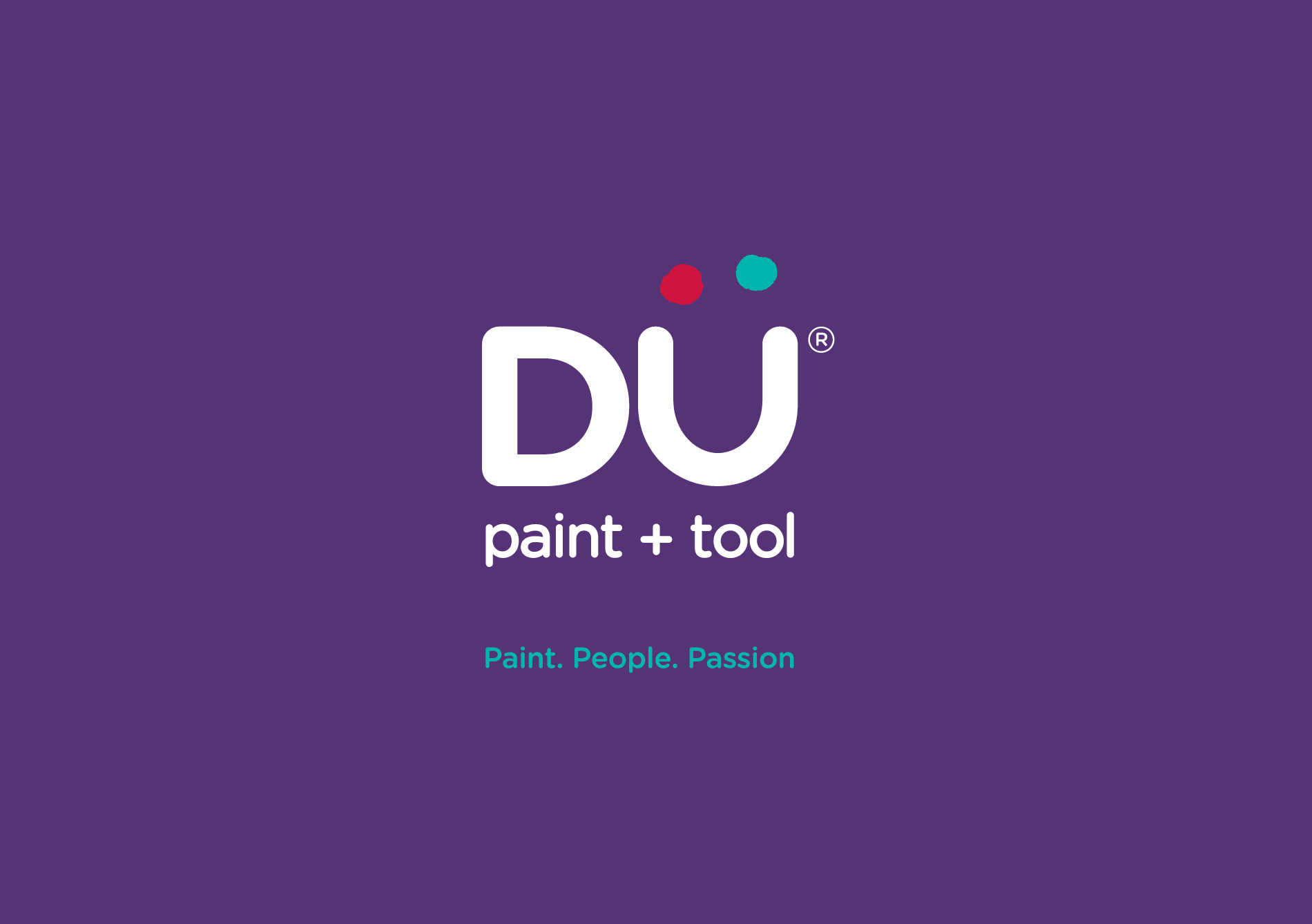 Graphic Design - client Dü Paint + Tool logo with registration mark