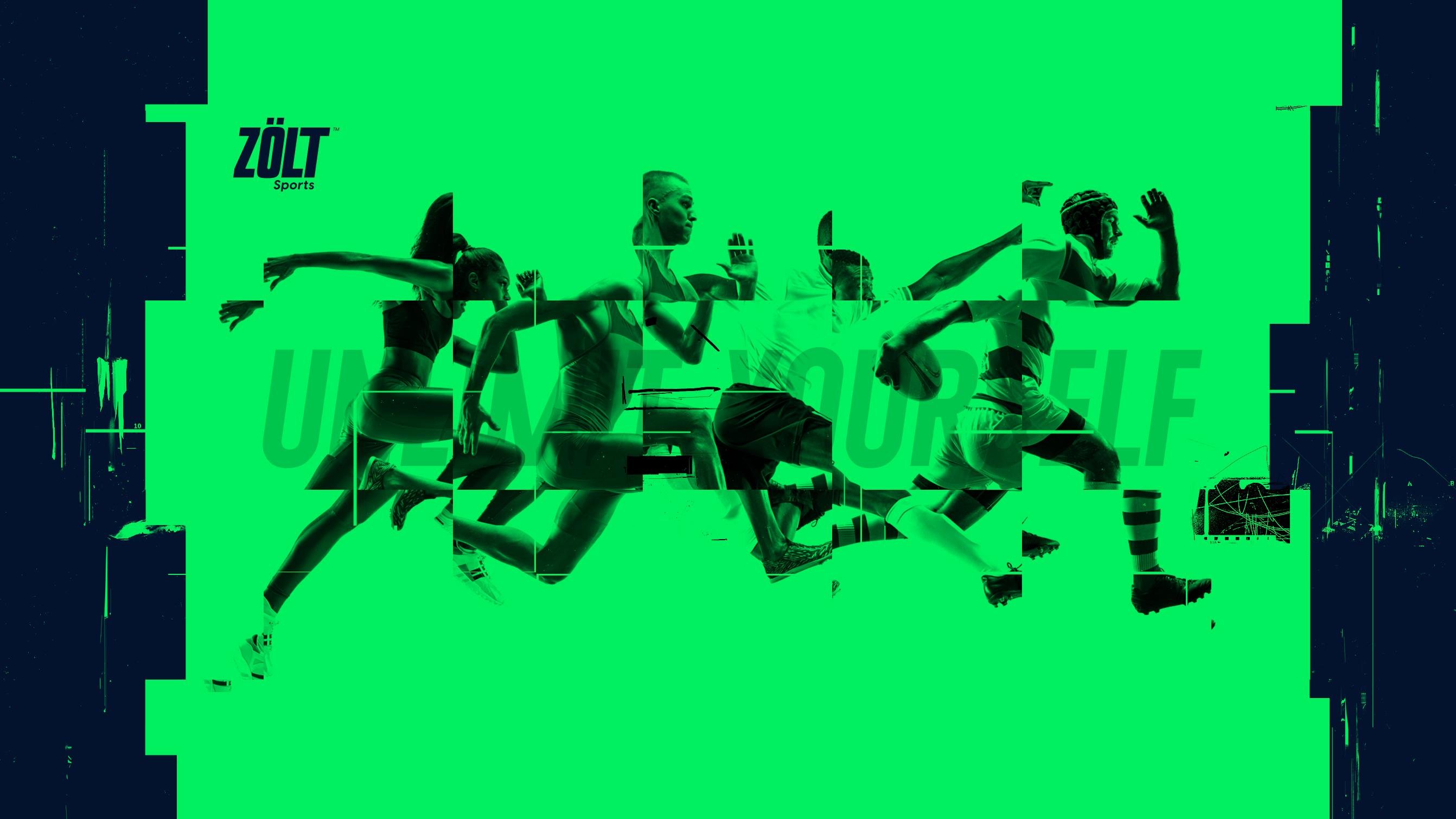 Brand name - client ZÖLT Sports social media post/brand image