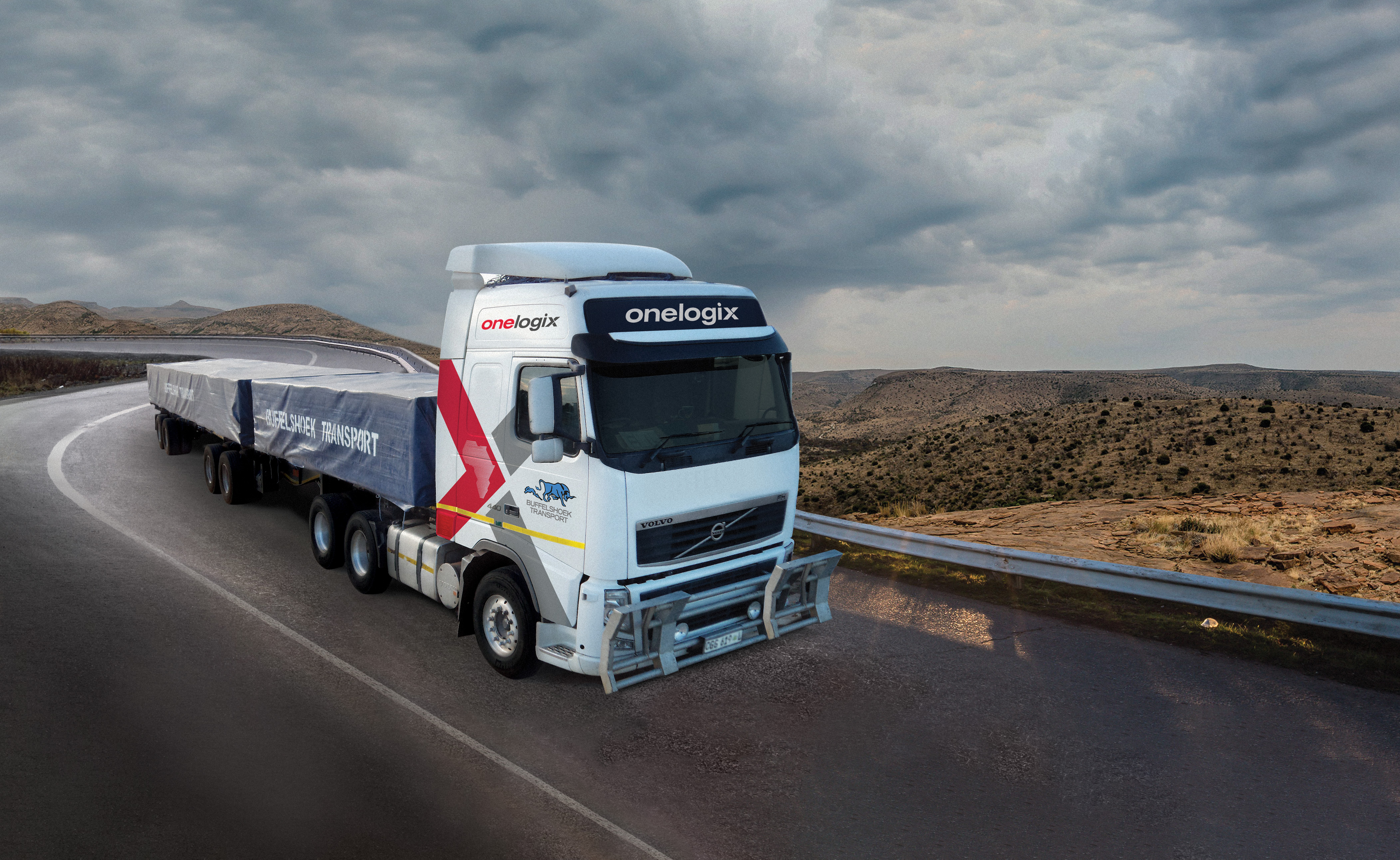 Vehicle Branding client Onelogix Buffelshoek old truck branding-min