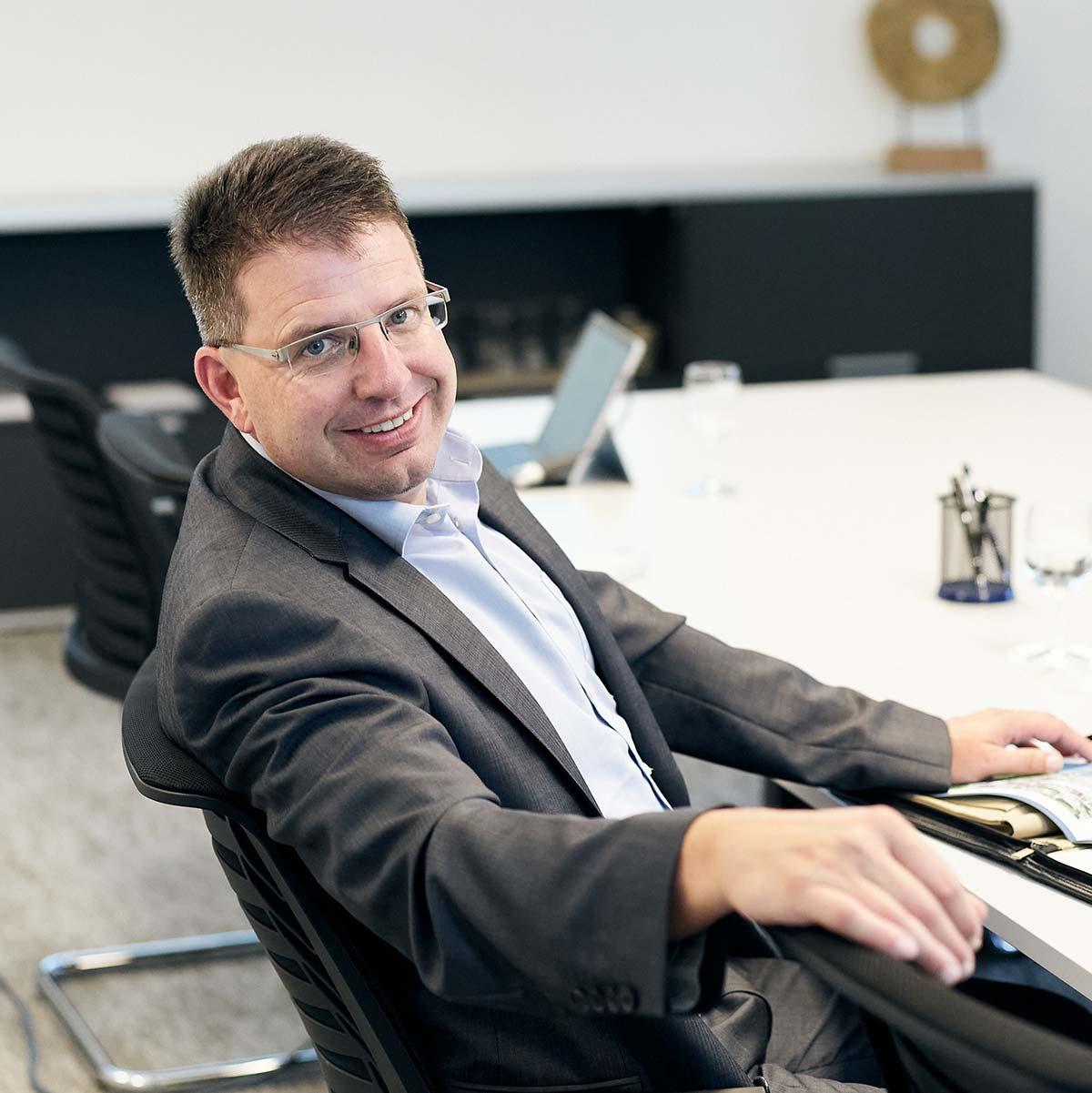 Daniel Eschmann Geschäftsführer der Hauenstein Immobilien AG