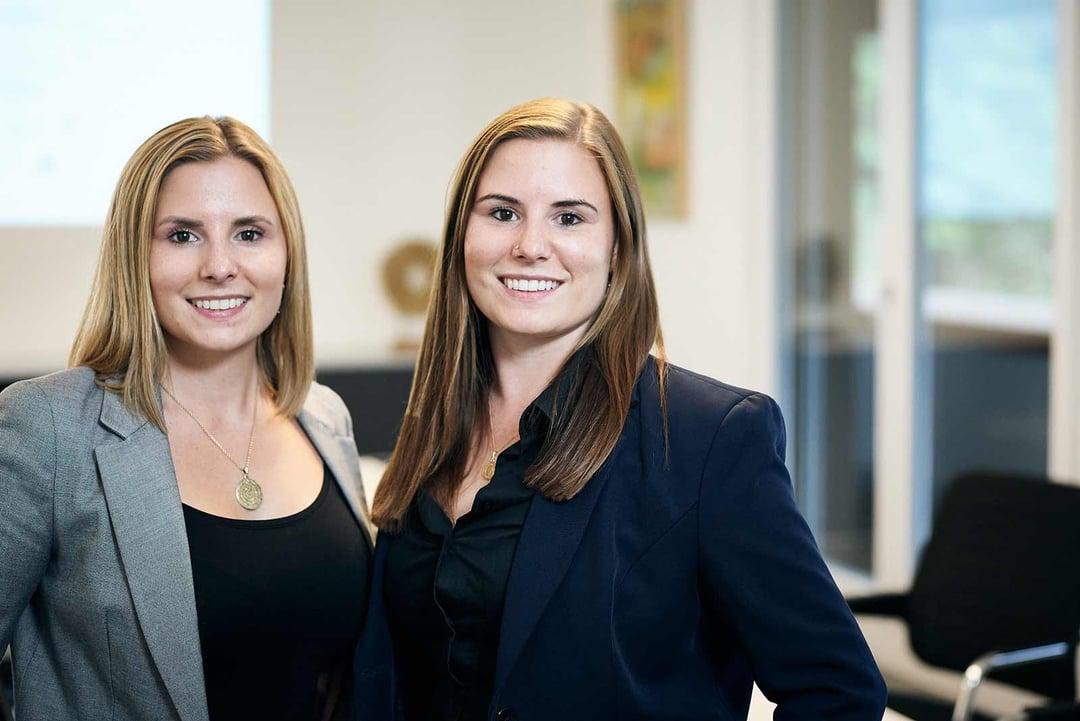 Nathalie Hauenstein und Andrea Hauenstein, Geschäftsführung Hauenstein Gruppe