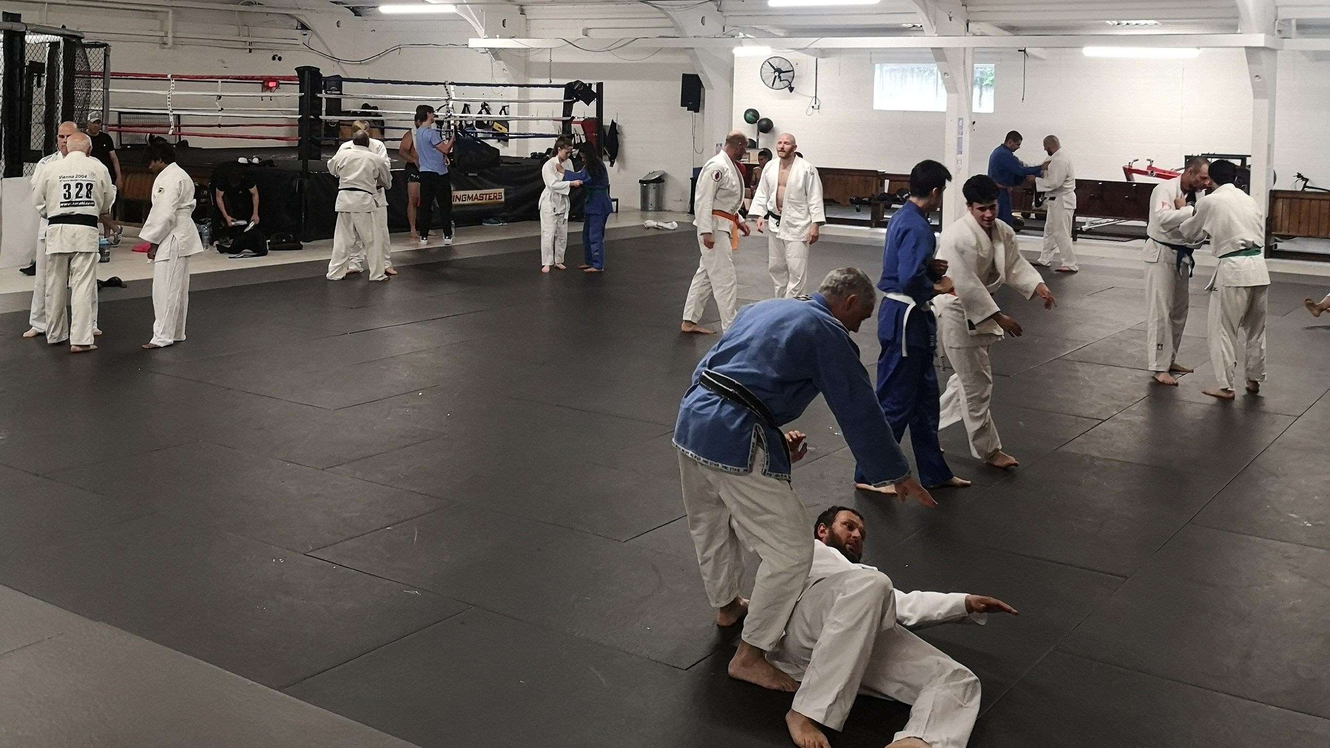 Senior Judo is Back on at Northampton.
