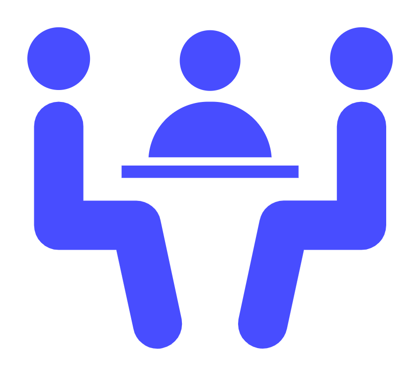 Icon of people sitting around table