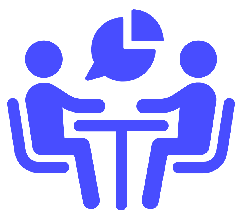 Icon of people around table