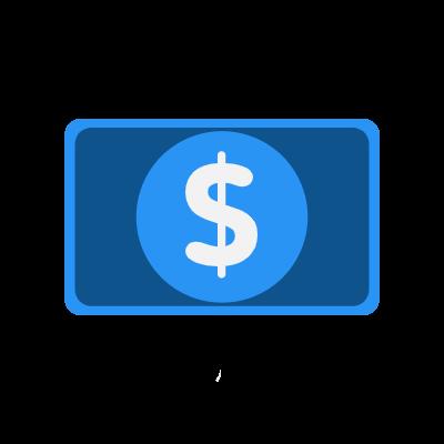 Illustration of money symbol