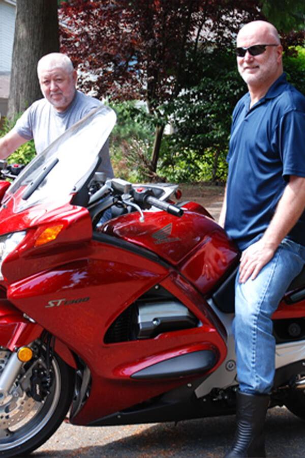 Jon McComb Motorbike