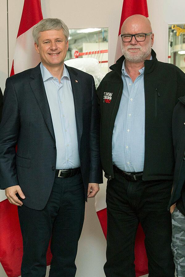 Jon McComb & Stephen Harper