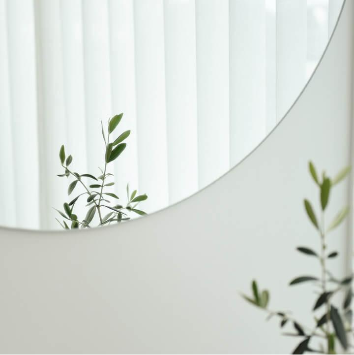 Lys kurve interiør