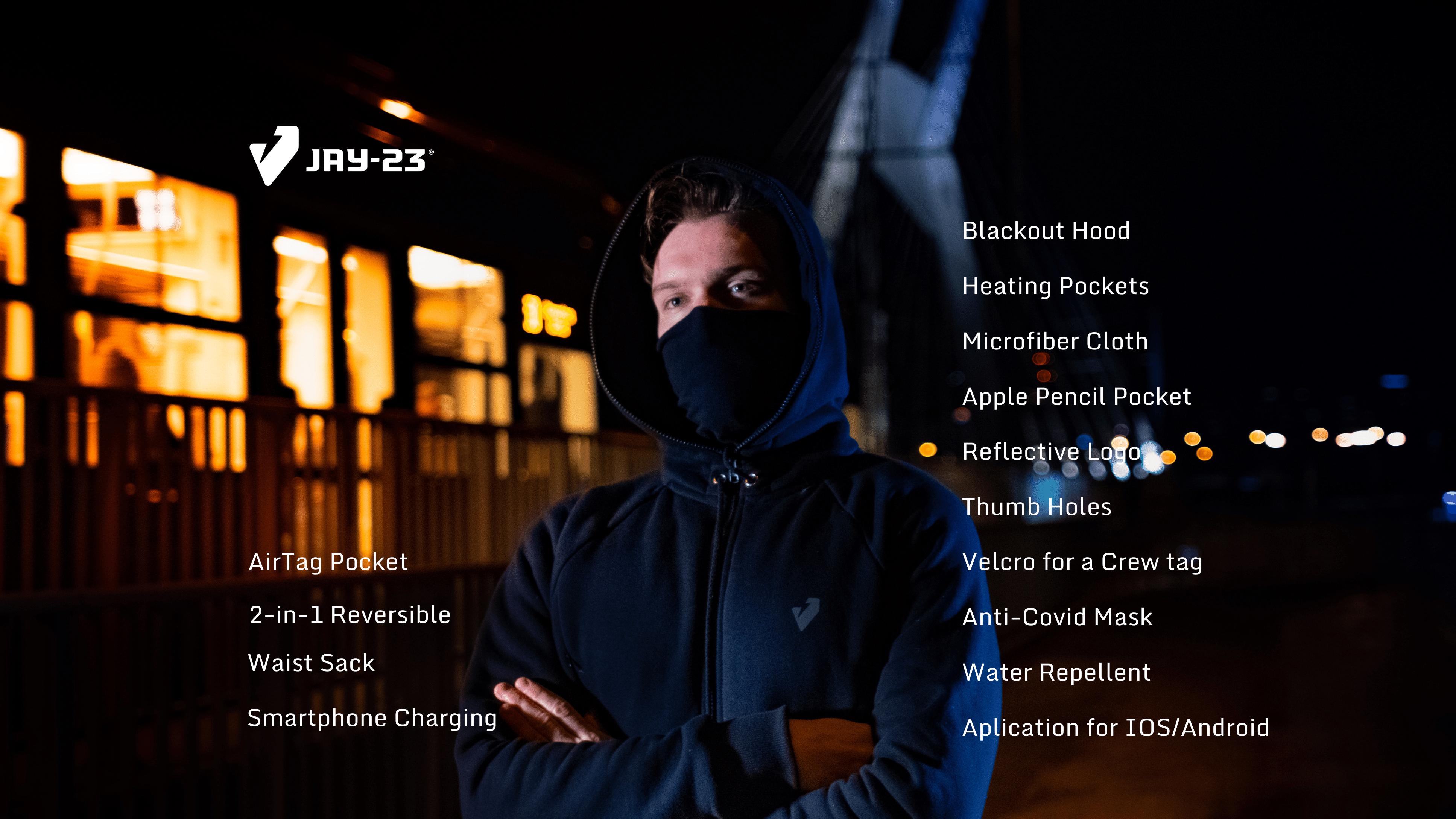 Jay23 PRO heated smart jacket 2021