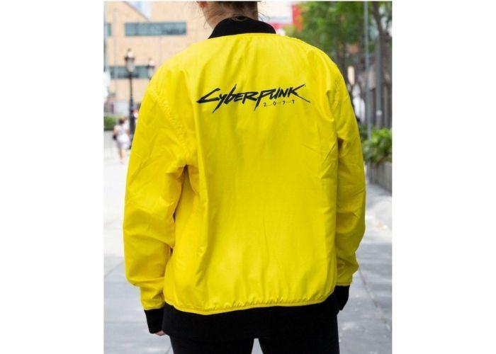 Cyberpunk bomber jacket