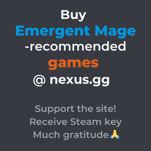 Buy Emergent Mage-recommended games at nexus.gg